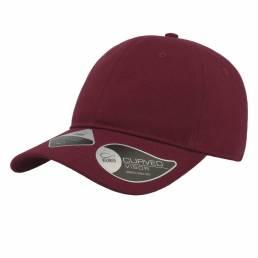 Økologisk curved cap med mulighed for logo trykt eller broderet