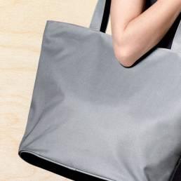 Indkøbs- og strandtaske med mulighed for trykt eller broderet logo