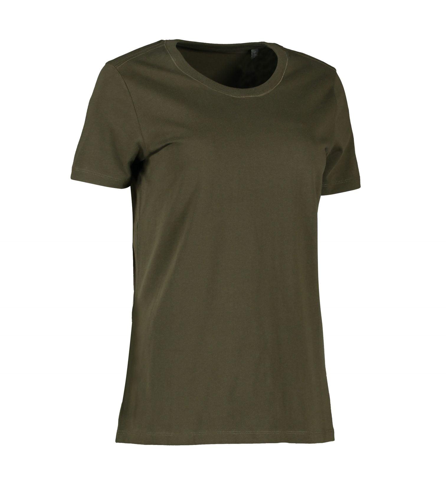 Økologisk T-shirt i klassisk, tidløst design med fantastisk pasform - mulighed for trykt eller broderet logo