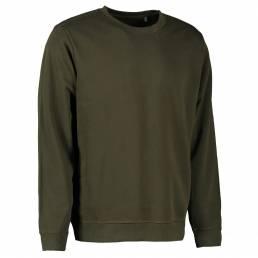 Økologisk sweatshirt i blød bomuldskvalitet - mulighed for trykt eller broderet logo