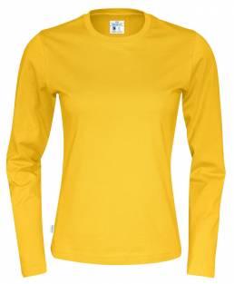 Økologisk fairtrade T-shirt med lange ærmer, CottoVer er et brand med holdning til miljøet. - Vi tilbyder trykt eller broderet logo