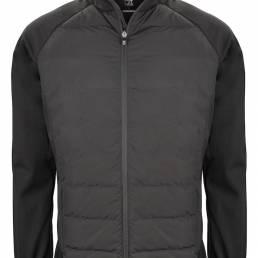 Sporty hybrid jakke til den kræsne fra CUTTER & BUCK produceret i genbrugsmateriale - vi tilbyder at brande den med trykt eller broderet logo.