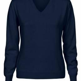 V-hals sweater i blandingsgarn der holder formen i årevis til den kræsne fra CUTTER & BUCK - vi tilbyder at brande den med trykt eller broderet logo. i CB Drytec polyester med UV-beskyttelse til den kræsne fra CUTTER & BUCK - vi tilbyder at brande den med trykt eller broderet logo.