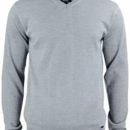 Moderne V-hals i 100% ekstra fin merino uld med blød cashmere følelse til den kræsne fra CUTTER & BUCK - vi tilbyder at brande den med trykt eller broderet logo