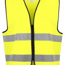 Sikkerheds arbejdstøj High-visibility vest- vi tilbyder at brande den med trykt eller broderet logo